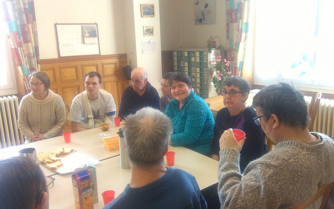 Visite au foyer DELILLE à Saint Dié des Vosges