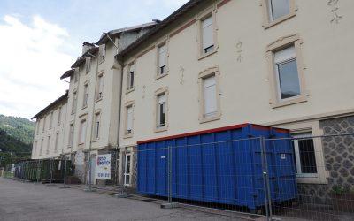 Les travaux de déconstruction de l'hospice commencent.