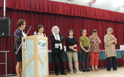 Participation au concours littéraire 2018 : remise des prix!