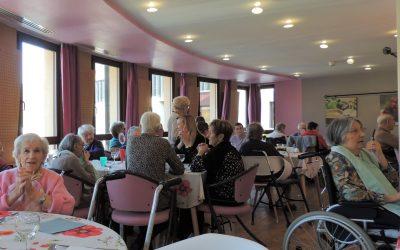 Le Beaujolais nouveau : l'occasion d'un repas en remerciement des bénévoles.