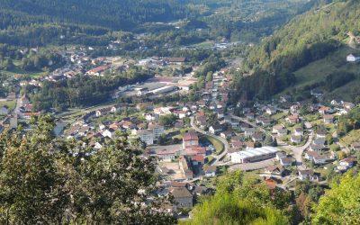Cornimont en photos : visite du village…
