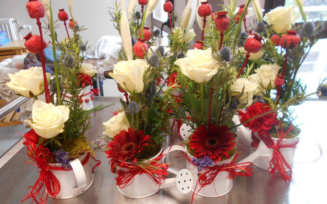 Nouvel atelier floral pour le 14 juillet