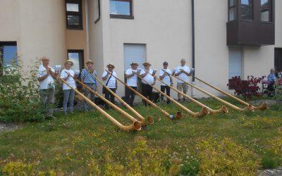 L'association «Cors des Alpes» nous rend visite!