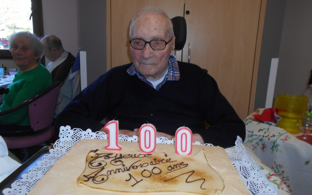 Une fête pour les cent ans de M. Ory!