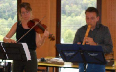 La musique Renaissance avec Laurie et Jean-Baptiste